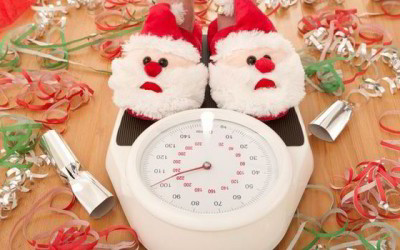 How to prevent too much weight gain during Christmas.